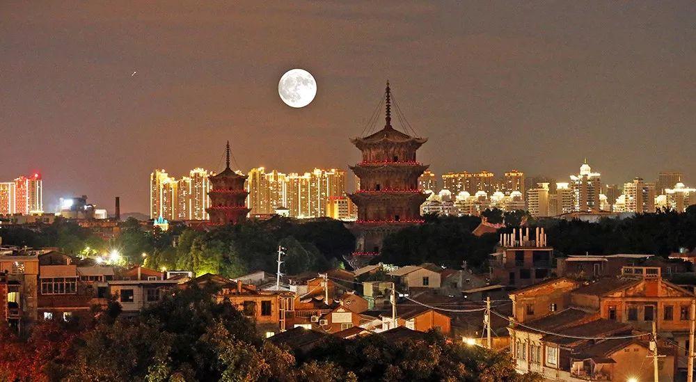 历年泉州最美的月亮集锦