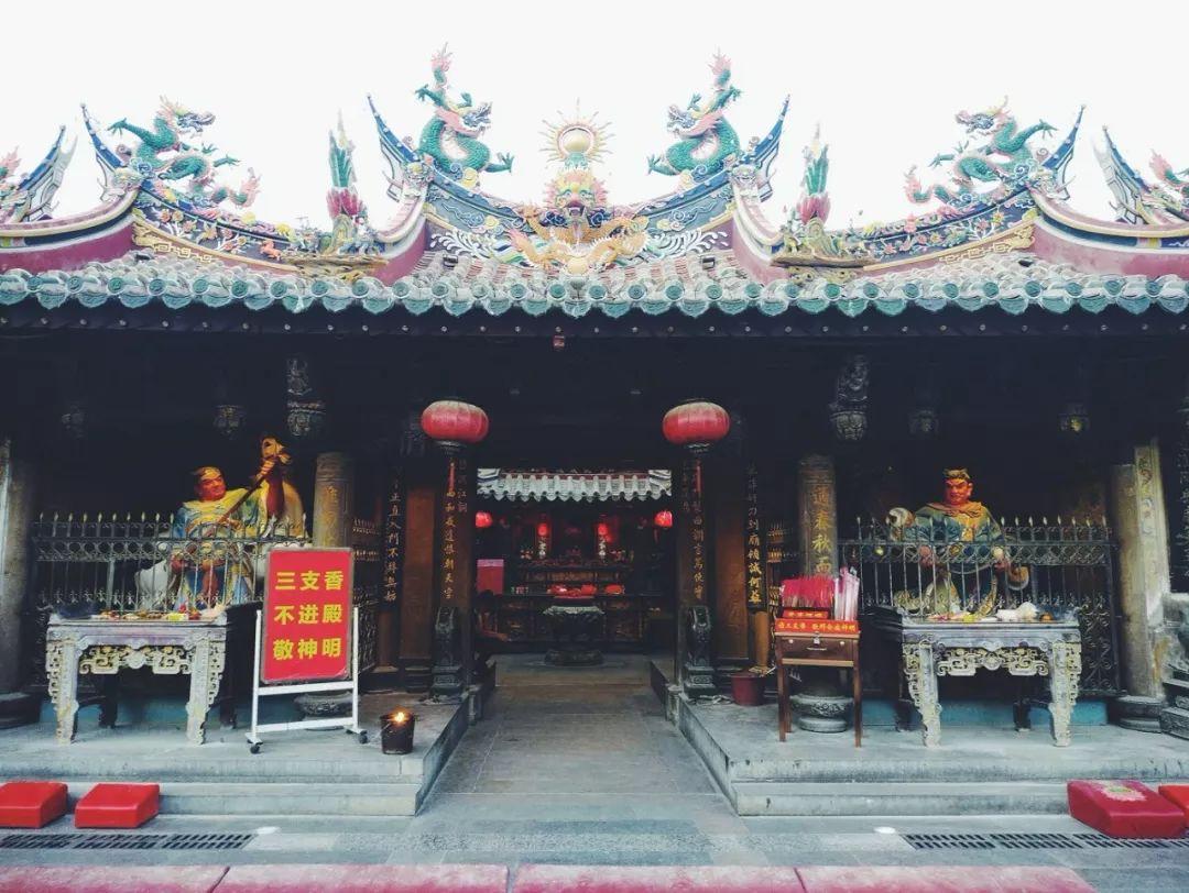 泉州通淮关岳庙今晚取消跨年活动